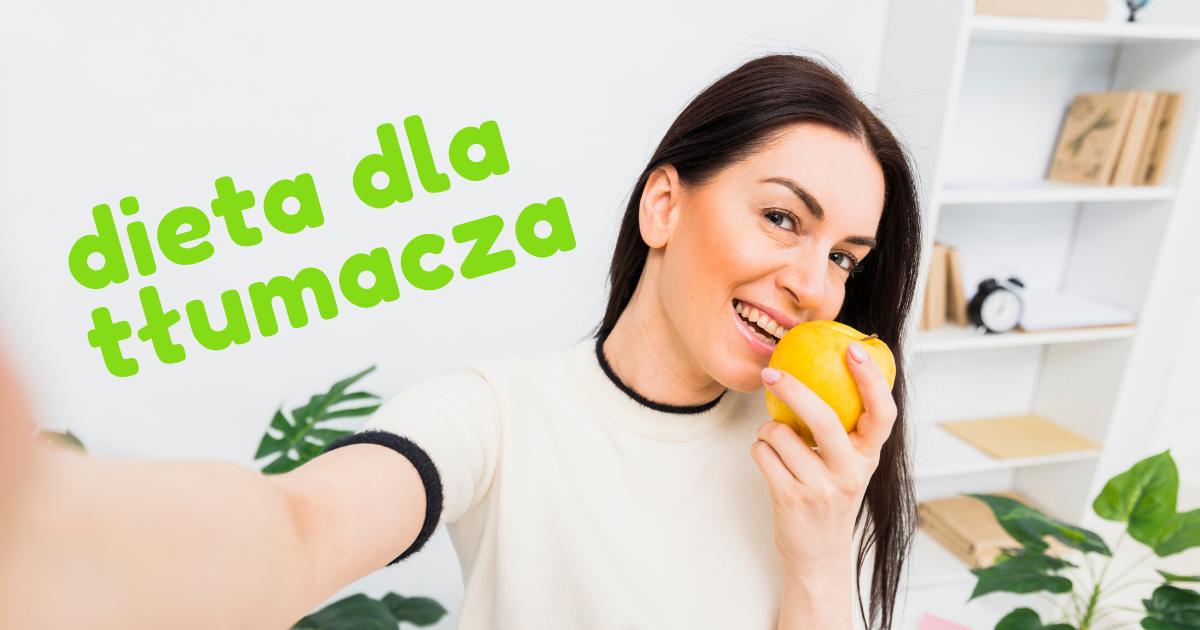 dieta dla tłumacza